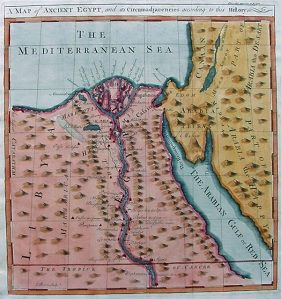 The Nile Delta of Ancient Egypt
