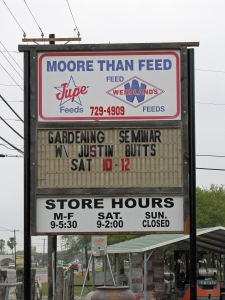 Moore than Feed Sign 3-23-13
