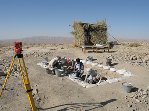 An Ancient Farmstead in the Zagros Mtns of Iran (photo courtesy TISRP/Univ of Tugengen/NPR)