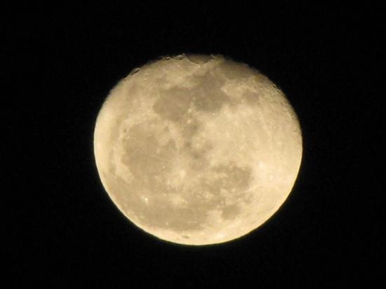 Full Moon over Four String Farm