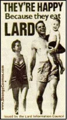 Lard, a happy family (newsblaze)