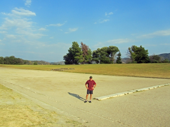 The Original Olympic Field