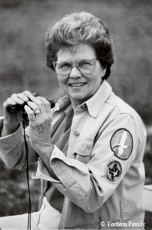 Phyllis Yochem (photo courtesy Texas Parks and Wildlife Magazine, copywrighted Yochem Family)