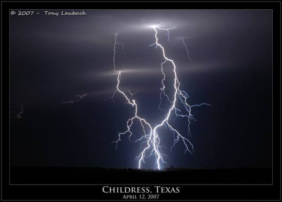 Tony Laubach Lightning Childdress