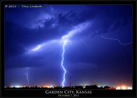 Tony Laubach Lightning Garden City