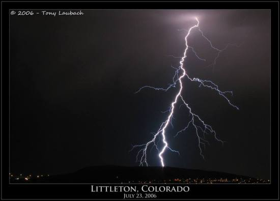 Tony Laubach Lightning Littleton
