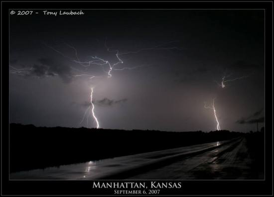 Tony Laubach Lightning Manhattan KS