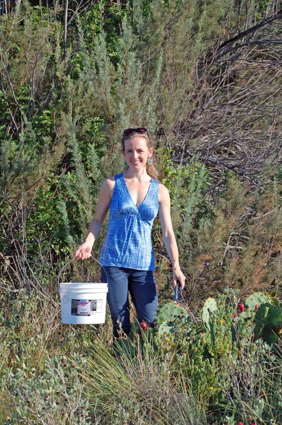 Kayla Picking Tunas near Port Aransas
