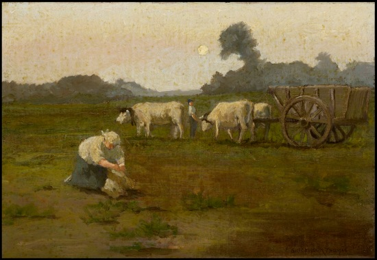 (Harvest Time, S. Seymour Thomas. Courtesy Art Museum of South Texas)