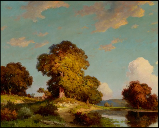 (Sunny Landscape, Robert William Wood. Courtesy Art Museum of South Texas)