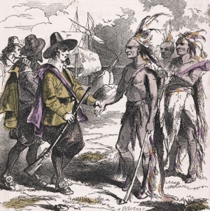 Squanto and Pilgrims