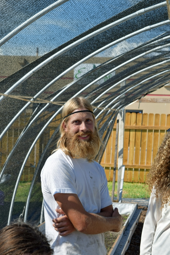Casey Williams of Corpus Christi Aquaponics